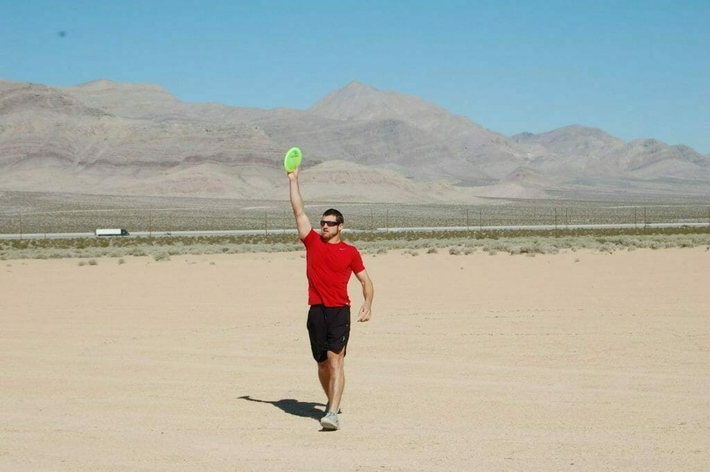 David Wiggins Jr. signals that he is ready to throw Saturday at the High Desert Distance Challenge.