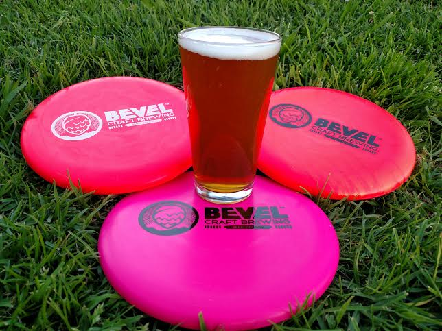 Bevel Beer merges two passions for world champion disc golfers. Photo: Bevel Beer