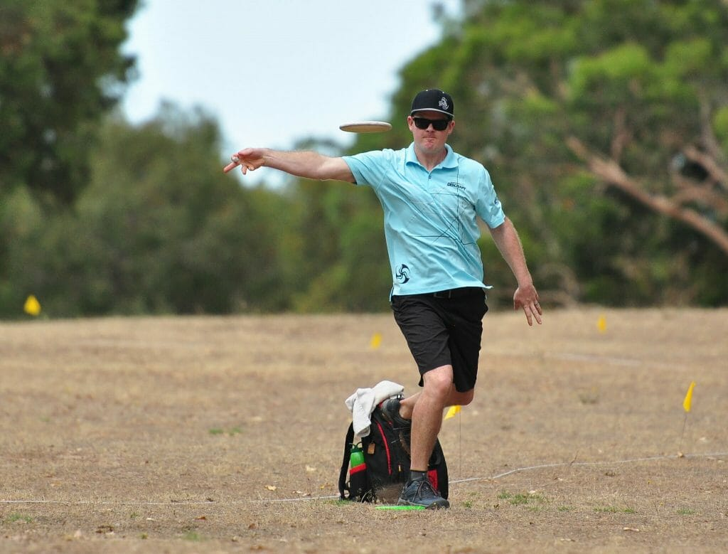 Nate Doss looks to build on his previous Kansas City success at this weekend's National Tour stop. Photo: PDGA