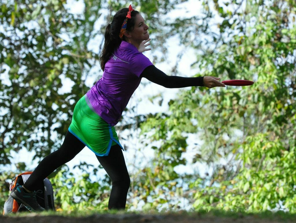 After a third place finish at the Glass Blown Open, Madison Walker is looking for a win this weekend at the Kansas City Wide Open. Photo: PDGA