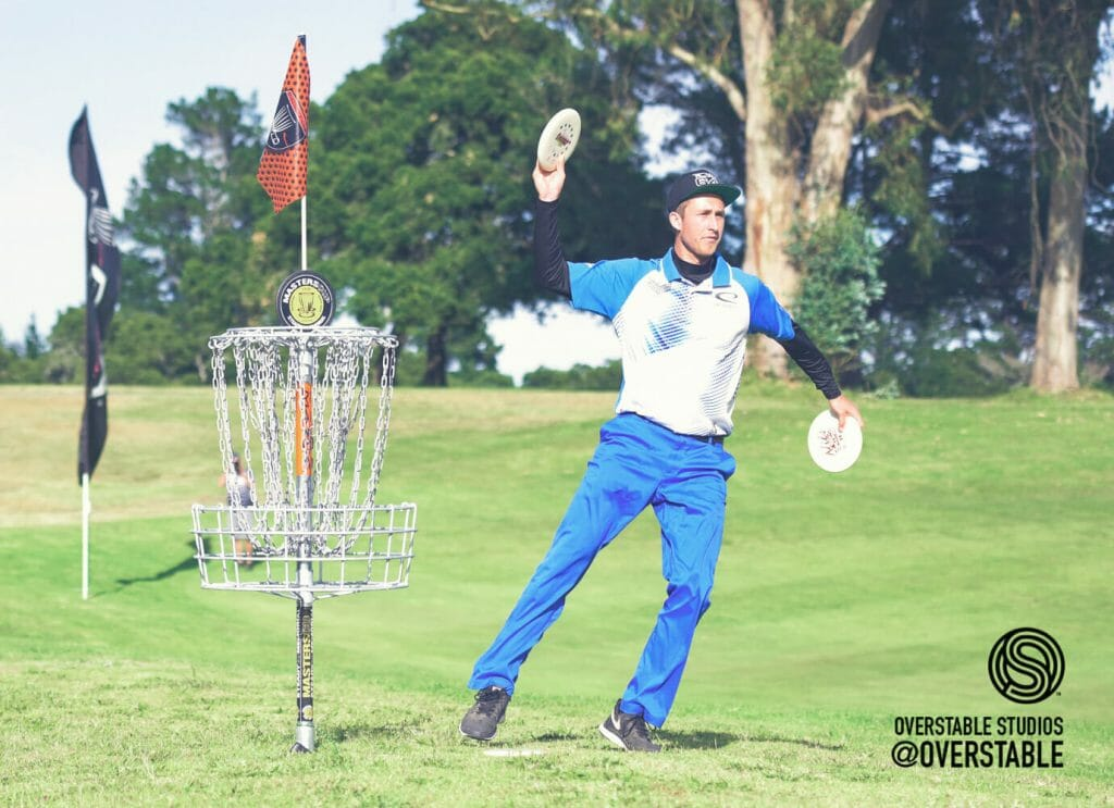 "Ricky Wysocki pulled off a dramatic 18th hole victory at the ""Steady"" Ed Masters Cup. Photo: Juan Garcia, Overstable Studios"