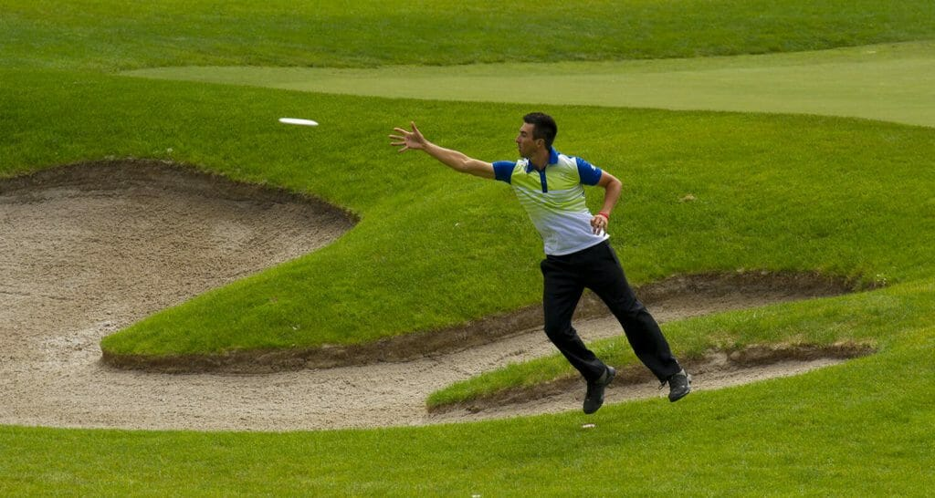 Paul McBeth will skip this year's St. Jude Disc Golf Charity Invitational to rehabilitate from an injury. Photo: Innova Discs