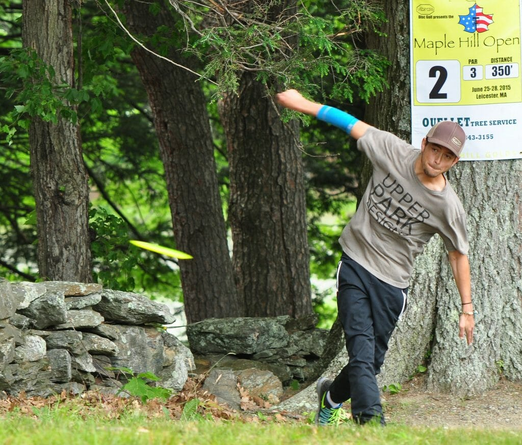 Gregg Barsby is fully healed and ready to rebound from last year's Vibram Open. Photo: PDGA