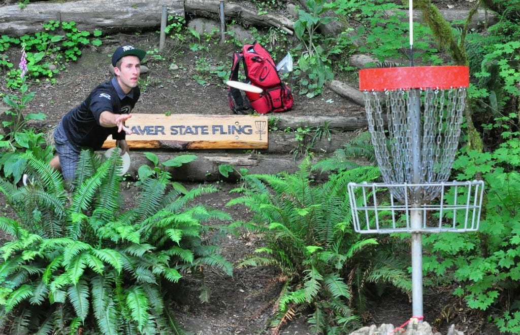 Ricky Wysocki took the lead in the second round and never relinquished it on the way to his Beaver State Fling victory. Photo: PDGA