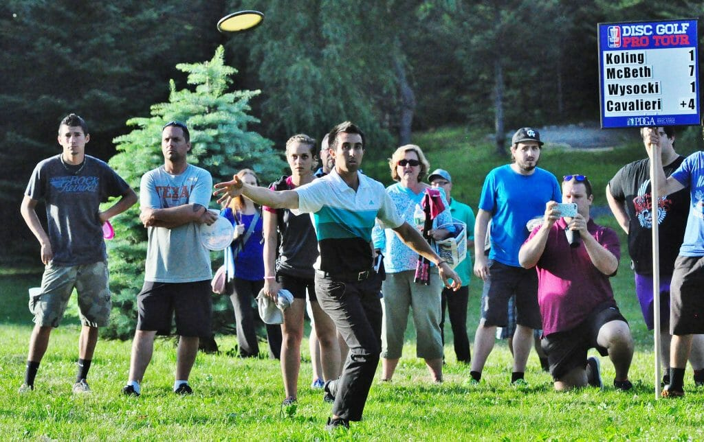 Paul McBeth says his health has found him searching for his touch. Photo: PDGA