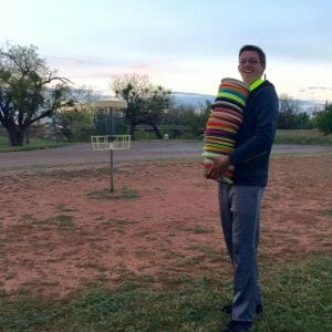 Tyler Franklin has brought his passion for disc golf from the United States to the Dominican Republic.