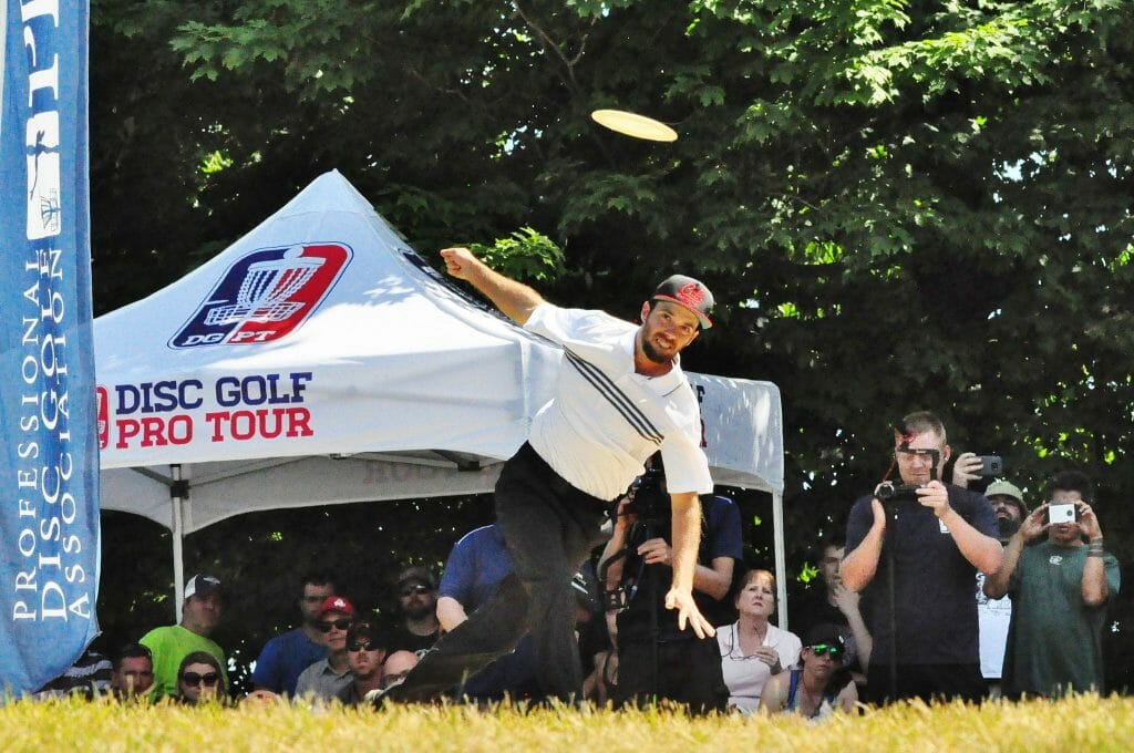 Bradley Williams' season-long strong play has resulted in a new sponsorship deal with Innova Discs. Photo: PDGA