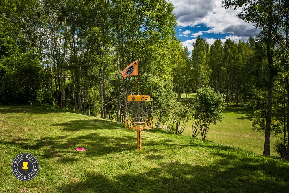 Järva DiscGolfPark in Stockholm, Sweden, plays host to this weekend's European Masters. Photo: Eino Ansio, Disc Golf World Tour