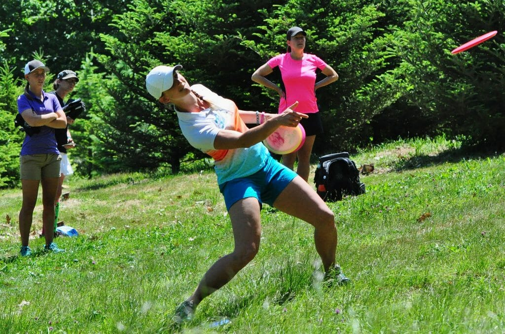 Now fully healthy, Sarah Hokom looks to Emporia for a chance at her second world title. Photo: PDGA