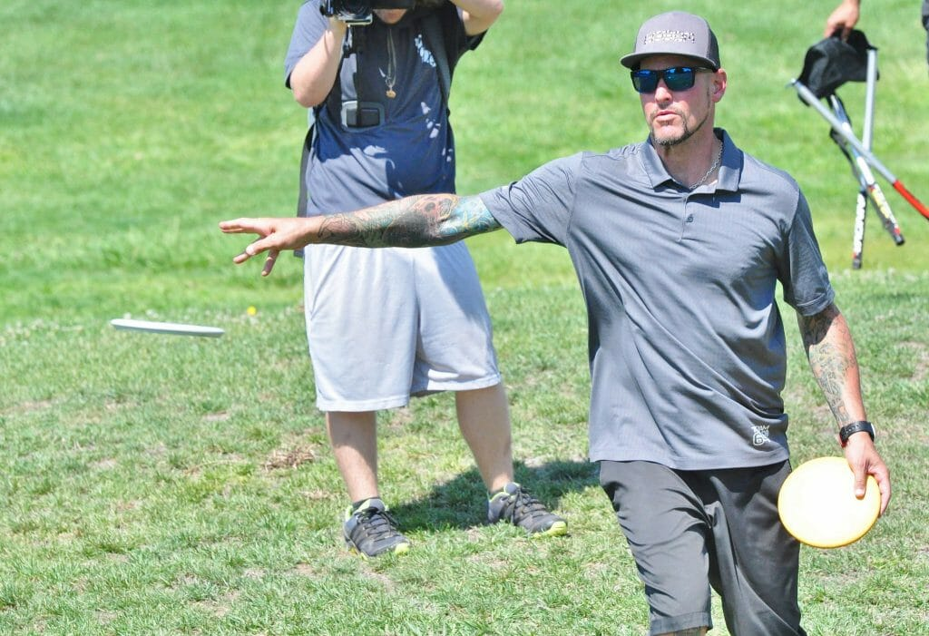 Patrick Brown won his first PDGA Major at the Tim Selinske U.S. Masters Disc Golf Championship in Stockton, Calif. Photo: PDGA