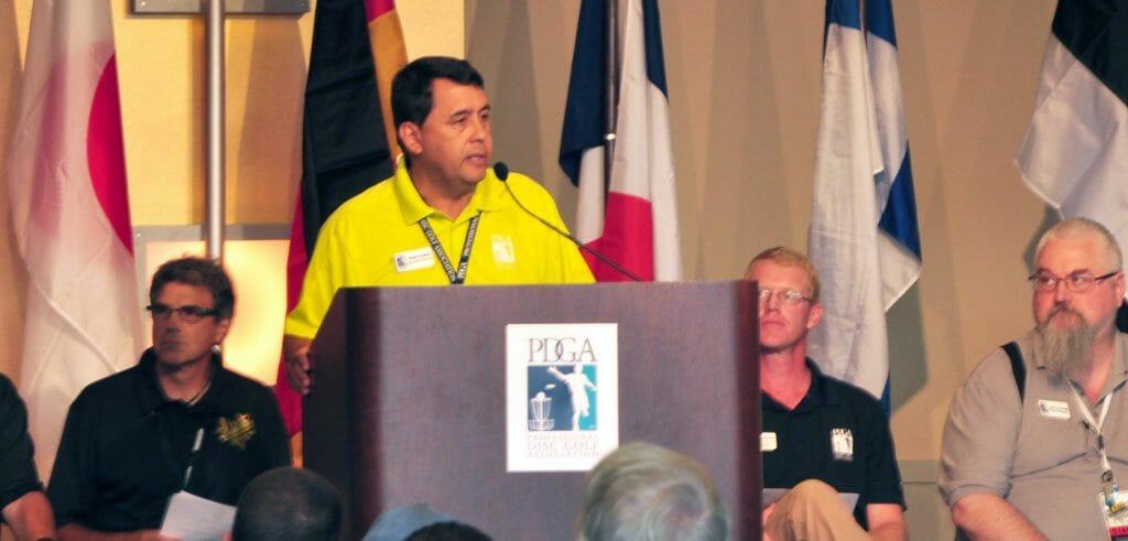 PDGA Executive Director Brian Graham. Phot: PDGA