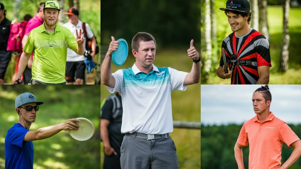 A look at five contenders who could make a run at the United States Disc Golf Championship title this week. Photos: Eino Ansio, Disc Golf World TOur