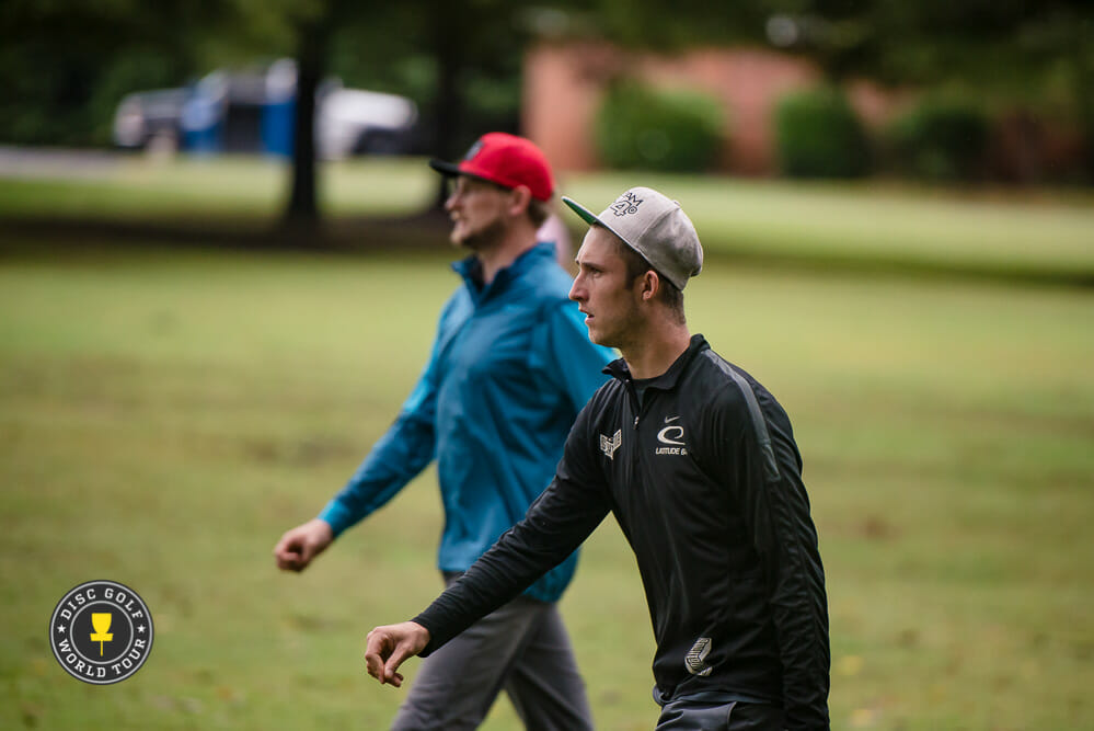 Ricky Wysocki and Jeremy Koling ended the season on a high note at the United States Disc Golf Championship. Photo: Eino Ansio, Disc Golf World Tour