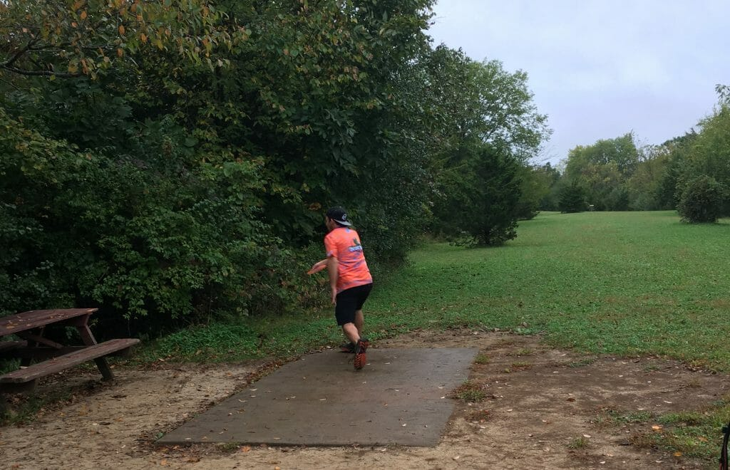 University of Wisconsin-Platteville's Alec Anderson took home the singles title at this weekend's Wisconsin Collegiate Disc Golf Tour opener.