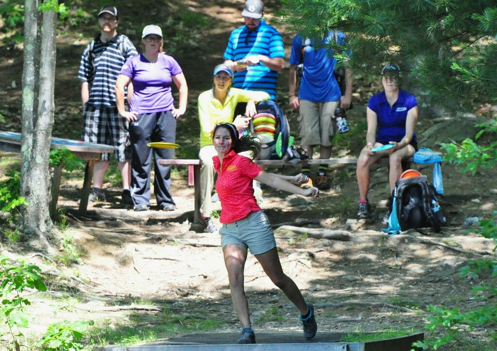 Madison Walker, shown here at the Vibram Open, is our Women's Breakout Player of the Year. Photo: PDGA