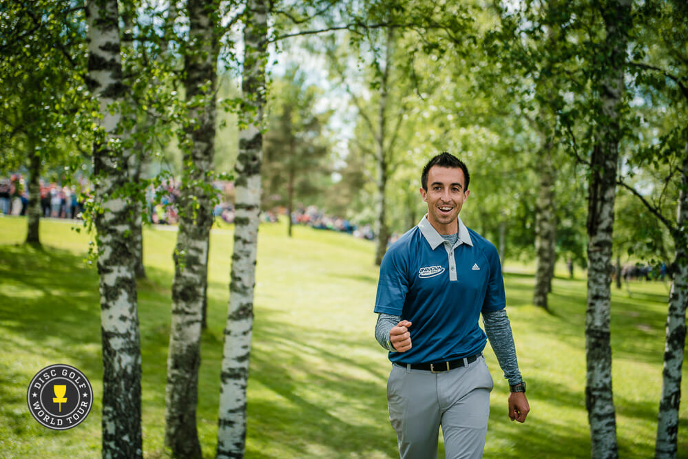 Paul McBeth's European Open comeback was our Men's Performance of the Year. Photo: Eino Ansio, Disc Golf World Tour