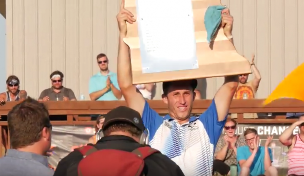 Ricky Wysocki's Majestic playoff battle with Nate Sexton resonated with our staff.