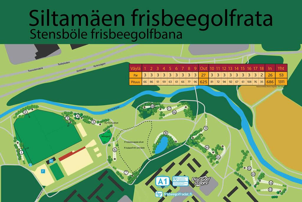 Siltamäki Frisbeegolf