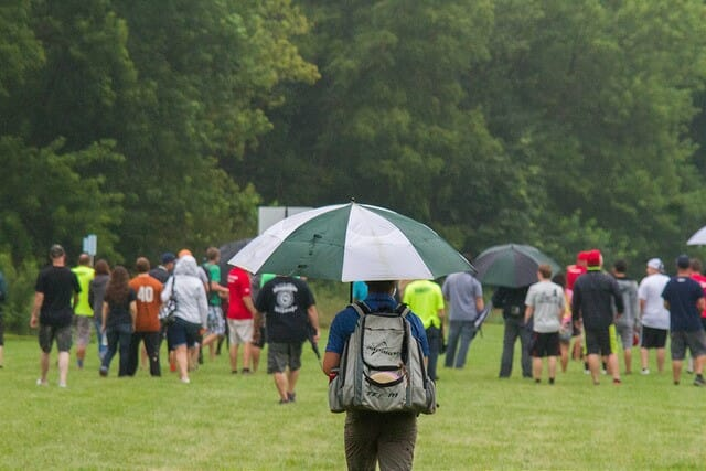 With Three Events Recently Shortened By Severe Weather The PDGA Competition Committee Is Set To Tackle Issue Photo Lauren Lakeberg