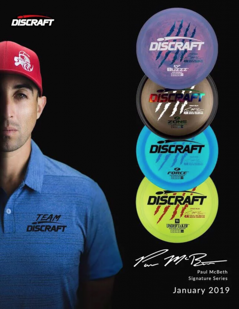 paul mcbeth discraft signature series