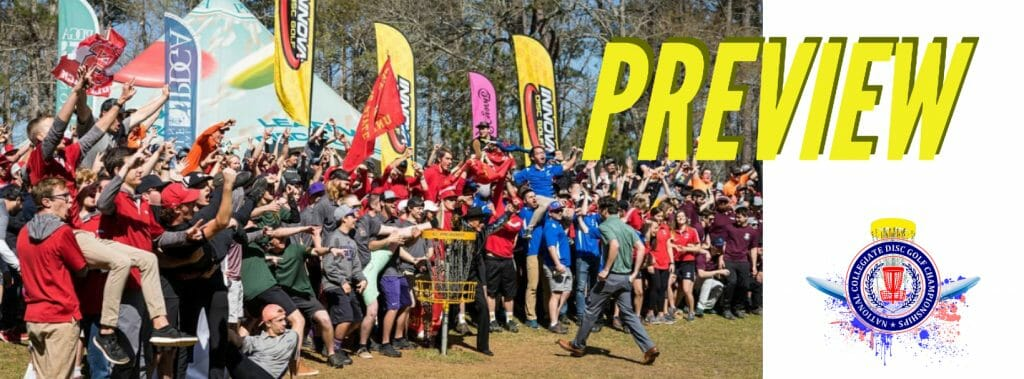 PREVIEW national collegiate disc golf championship