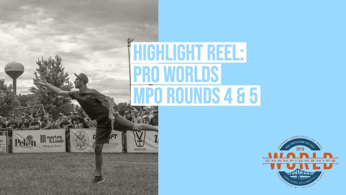 Highlights: 2019 Pro Worlds – MPO Rounds 4 & 5 | Ultiworld